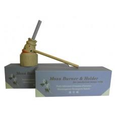Moxa burner/holder