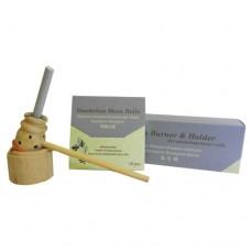 Smokeless Moxa set (mini holder & 10 moxa sticks)